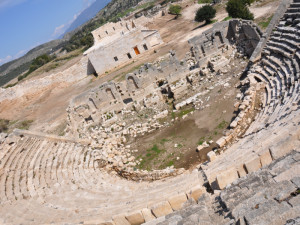 The ancient amphitheater
