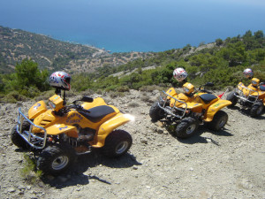 Tour in quads