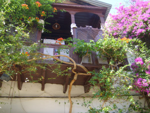 Typical houses in Kas